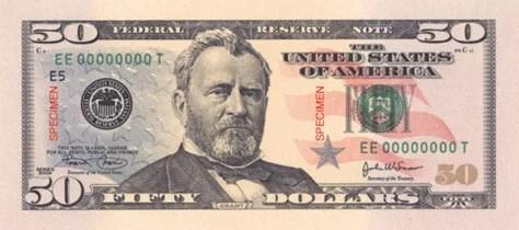 Image result for 50 bill