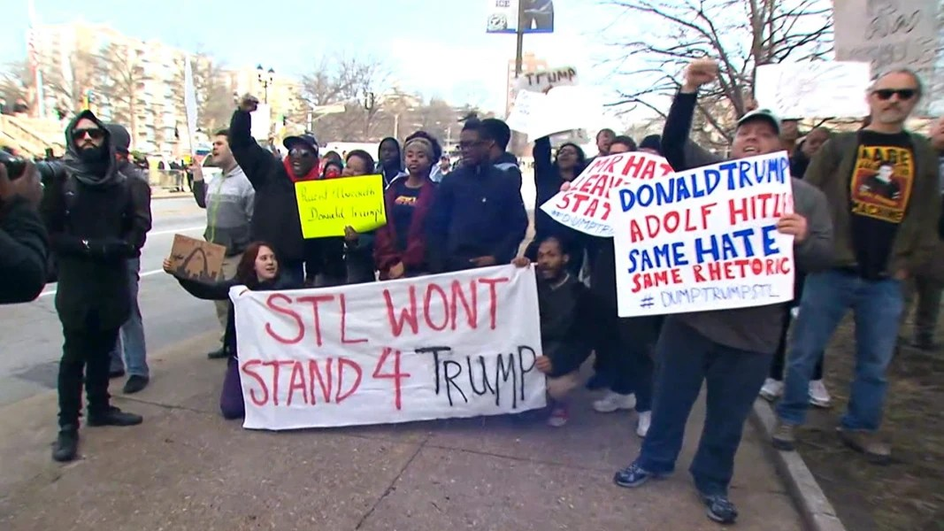Image result for PHOTOS OF RECENT PROTESTS V TRUMP