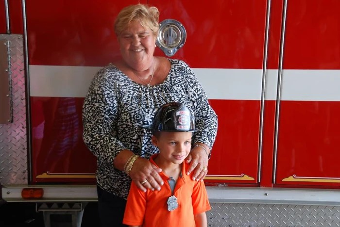 Mason Farr saved his aunt's life