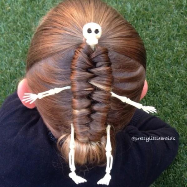 Mom Creates Beautiful Intricate Braids In Daughters Hair