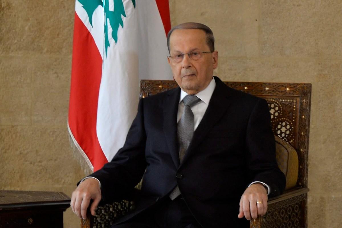 Michel Aoun Is Elected As Lebonons New President NBC News