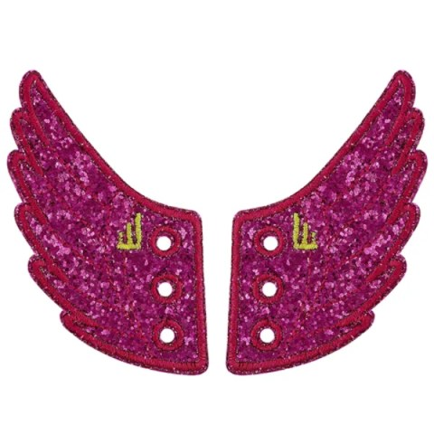 Fuschia sparkle wings seen on The Today Show