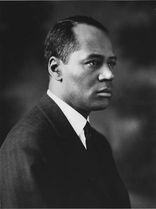 Image: Dr. Charles Hamilton Houston ca. 1931.