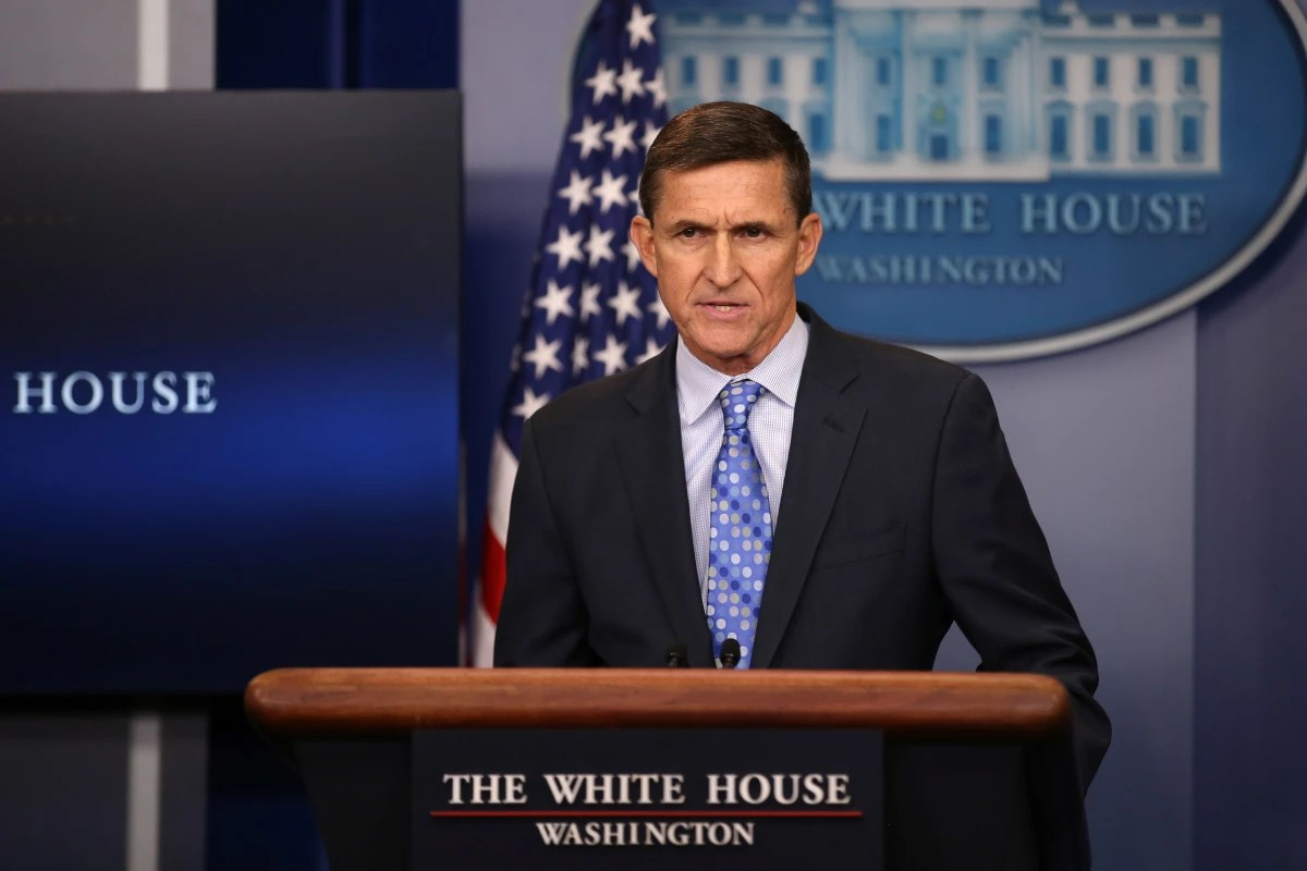 Image result for flynn out resigned