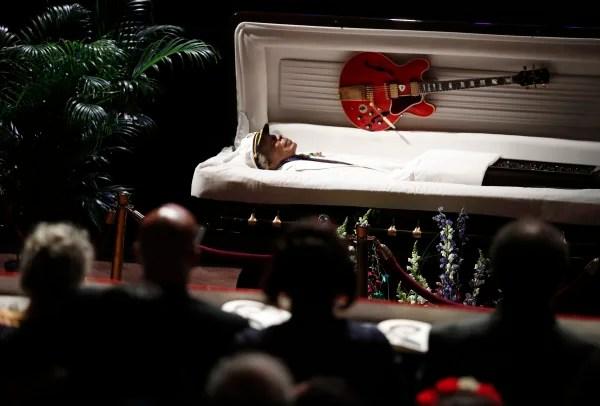 Image: Chuck Berry memorial