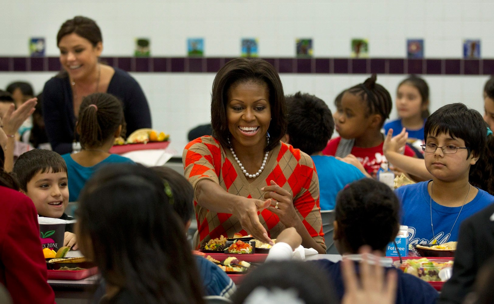Trump to Rollback Student Meal Plan Initiated by Michelle Obama