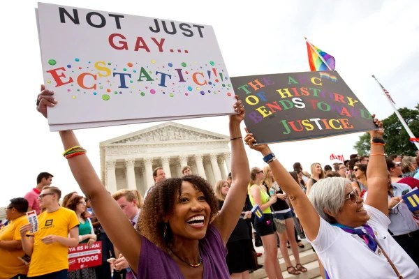 Image: same sex marriage celebration