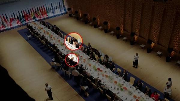 Image: Trump and Putin at dinner - credit, NBC