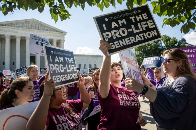 Image: Abortion protests