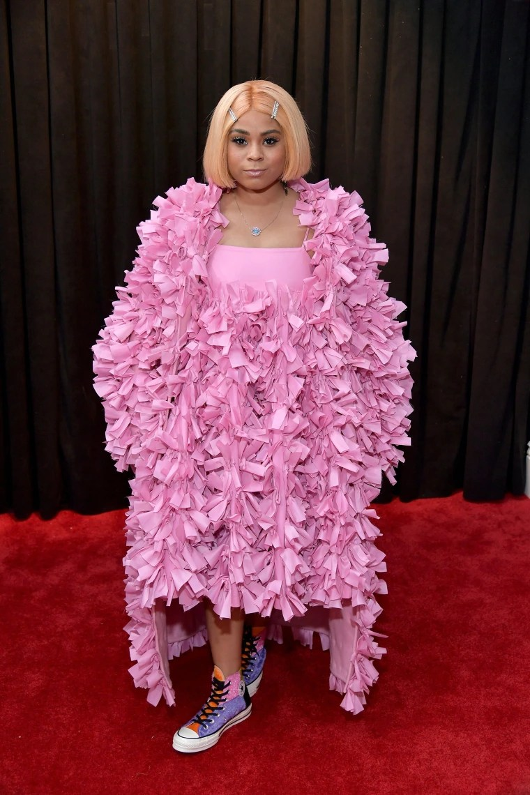 Image: Tayla Parx at the Grammys 2019