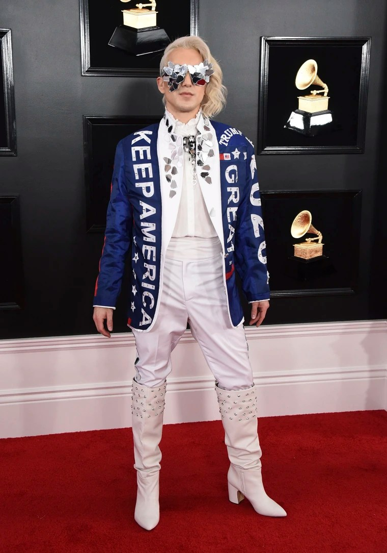 Image: Ricky Rebel at Grammys 2019