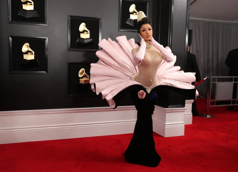 Image: Cardi B. at the Grammys 2019