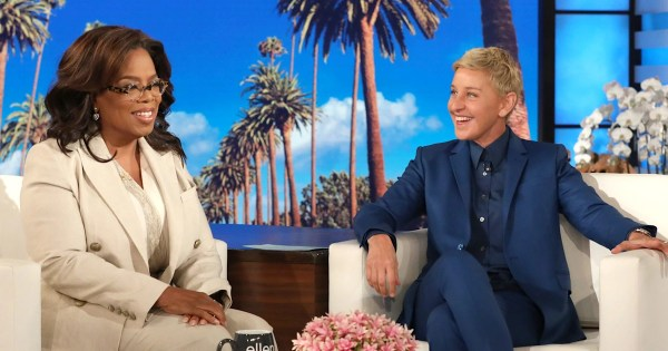 Oprah opens up to Ellen about her recent health scare
