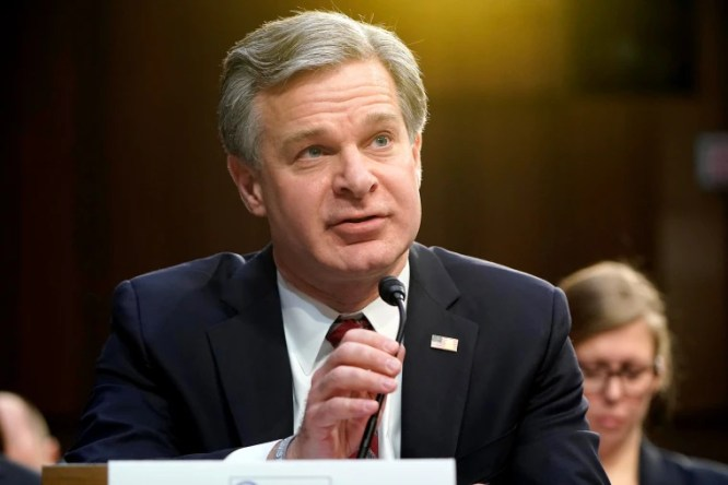 Trump blasts FBI director Wray for backing IG report that 2016 ...