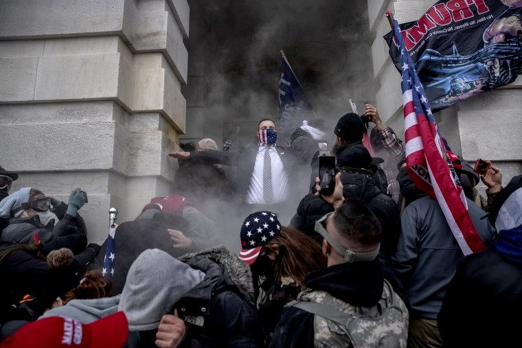 Let us in!': What happened after Trump told his supporters to swarm the  Capitol