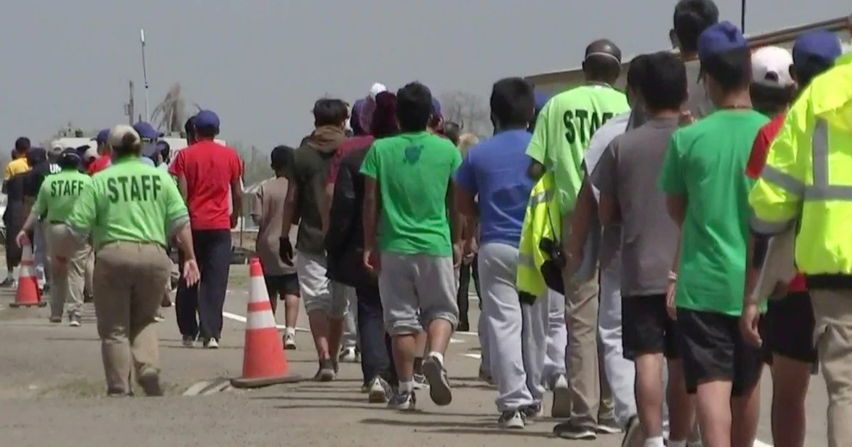 California foster parents asked to take unaccompanied migrant children 4/21/21