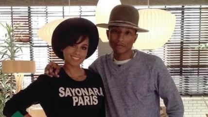 Image: Alicia Keys and Pharrell Williams