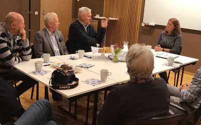 Riksdagspolitiker besökte Residens Mälaren
