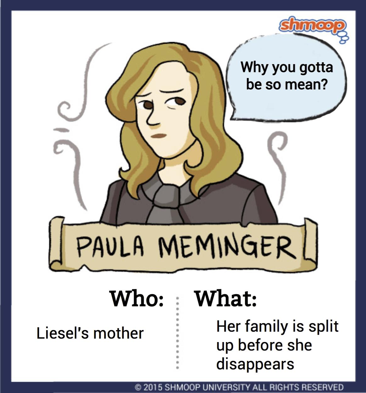 Liesel Meminger In The Book Thief