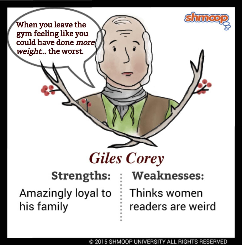 Giles Corey In The Crucible