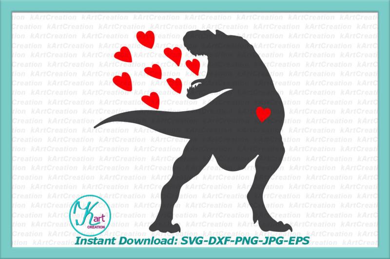 Download valentine dinosaur svg, spread love svg, dinosaur svg ...