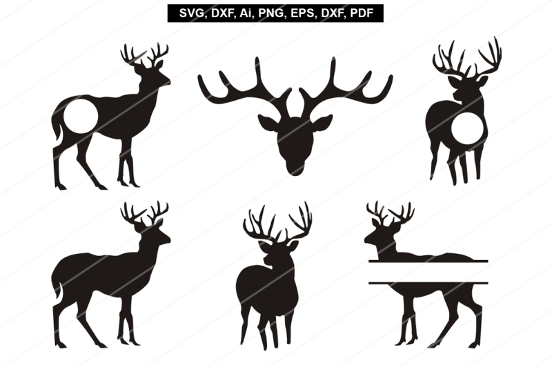 Download Deer svg,Reindeer svg,Cricut files,silhouette cameo ...