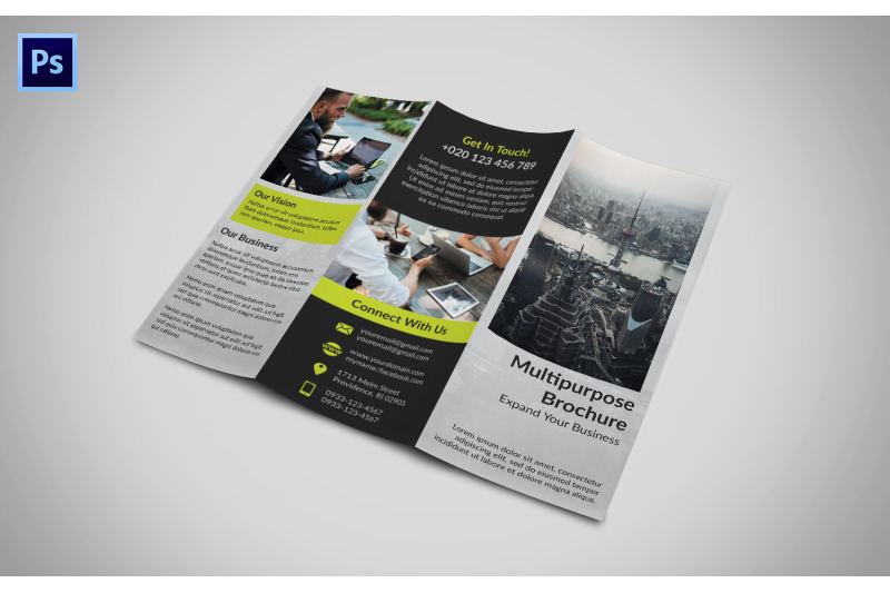 Download 85x11 Brochure Cover Mockup Psd Yellowimages