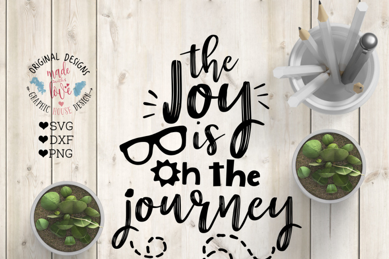 Free The joy is on the Journey Cutting File Crafter File ...