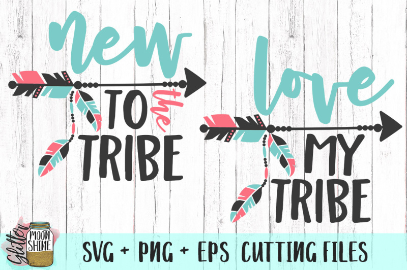 Download Free Love My Tribe Bundle of SVG PNG EPS Cutting Files SVG ...