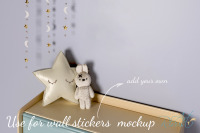 Download Free Psd Sticker Mockup Yellowimages