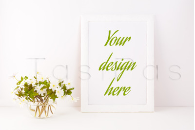 Download Clear Glass Olive Oil Bottle Mockup Front View Yellowimages