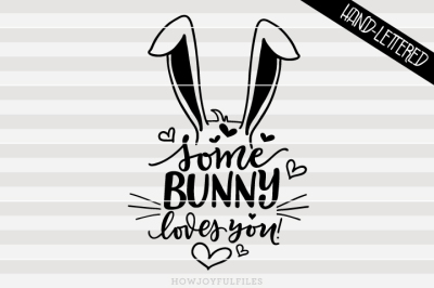 Download Download Some bunny loves you - bunny - hand drawn ...