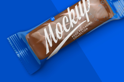 Download Snack Bar With Nuts Mockup Yellowimages