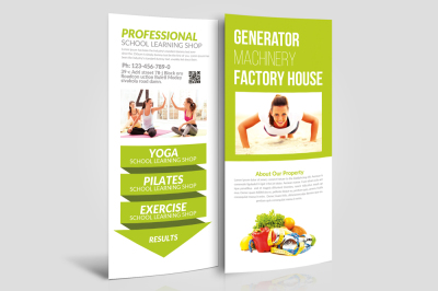 Download Rack Card Psd Mockup Yellowimages