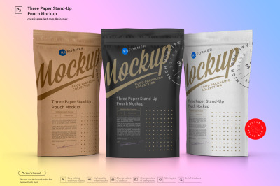 Download Kraft Paper Box Mockup Side View Yellowimages