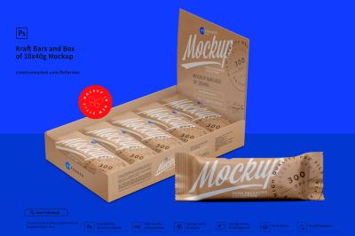 Download Kraft Food Bag Mockup Yellow Images