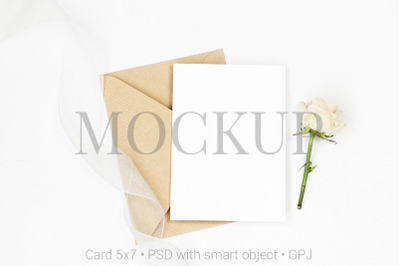 Download Stitched Kraft Paper Bag Mockup Front View Yellowimages