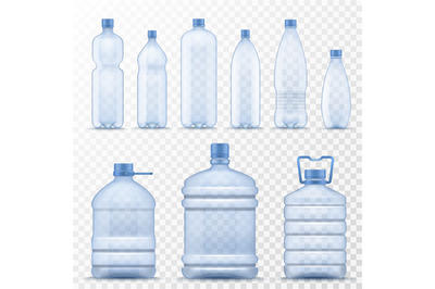 Download 300ml Clear Plastic Bottle Mockup Yellowimages
