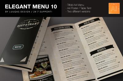 Download Restaurant Menu Mockup Psd Free Yellowimages