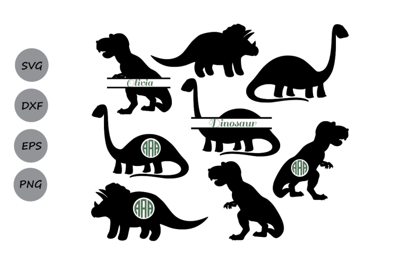Download Dinosaur SVG, Animals SVG, Dinosaur Silhouette, Dinosaur ...