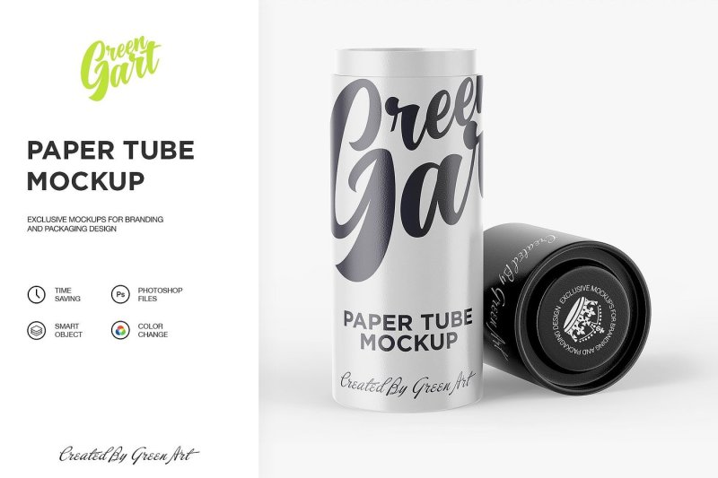 Download Glossy Cosmetic Tube Box Mockup Yellow Images