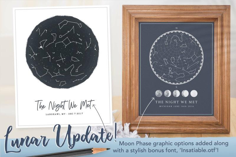 starmap constellation poster creator