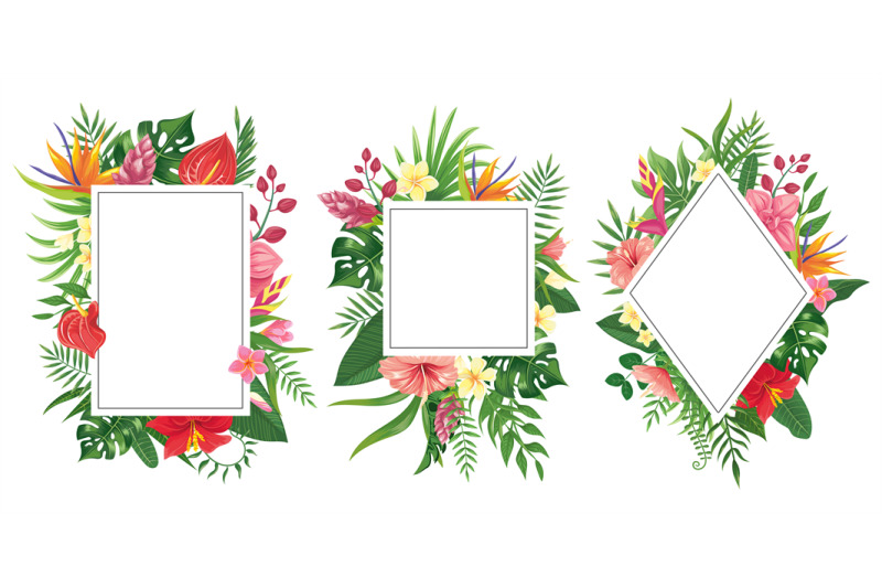Hawaiian Types Backgrounds Flowers