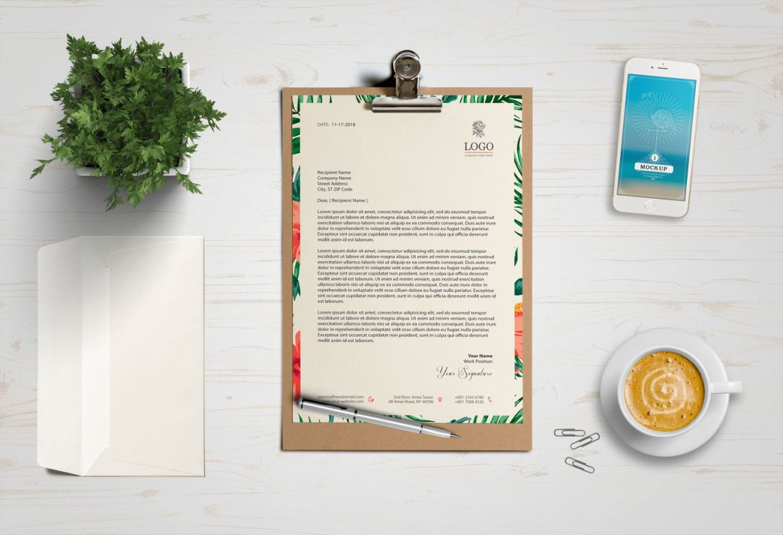 Download Business Card And Letterhead Mockup Psd Free Download Yellow Images