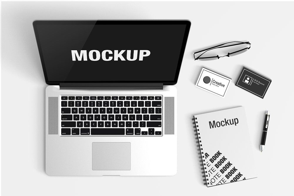 Download Advertising Mockup Psd Office Yellow Images