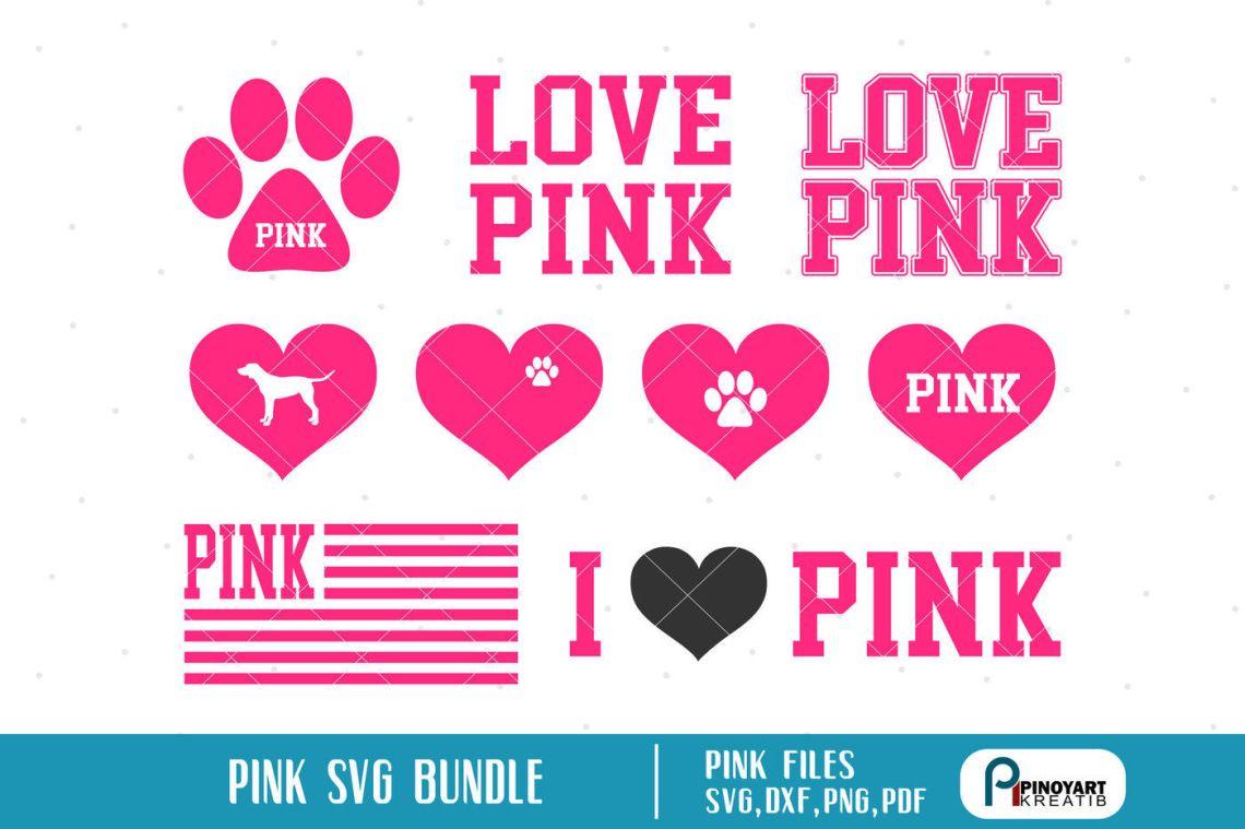 Download pink svg,pink svg file,pink dxf file,love pink svg,love ...