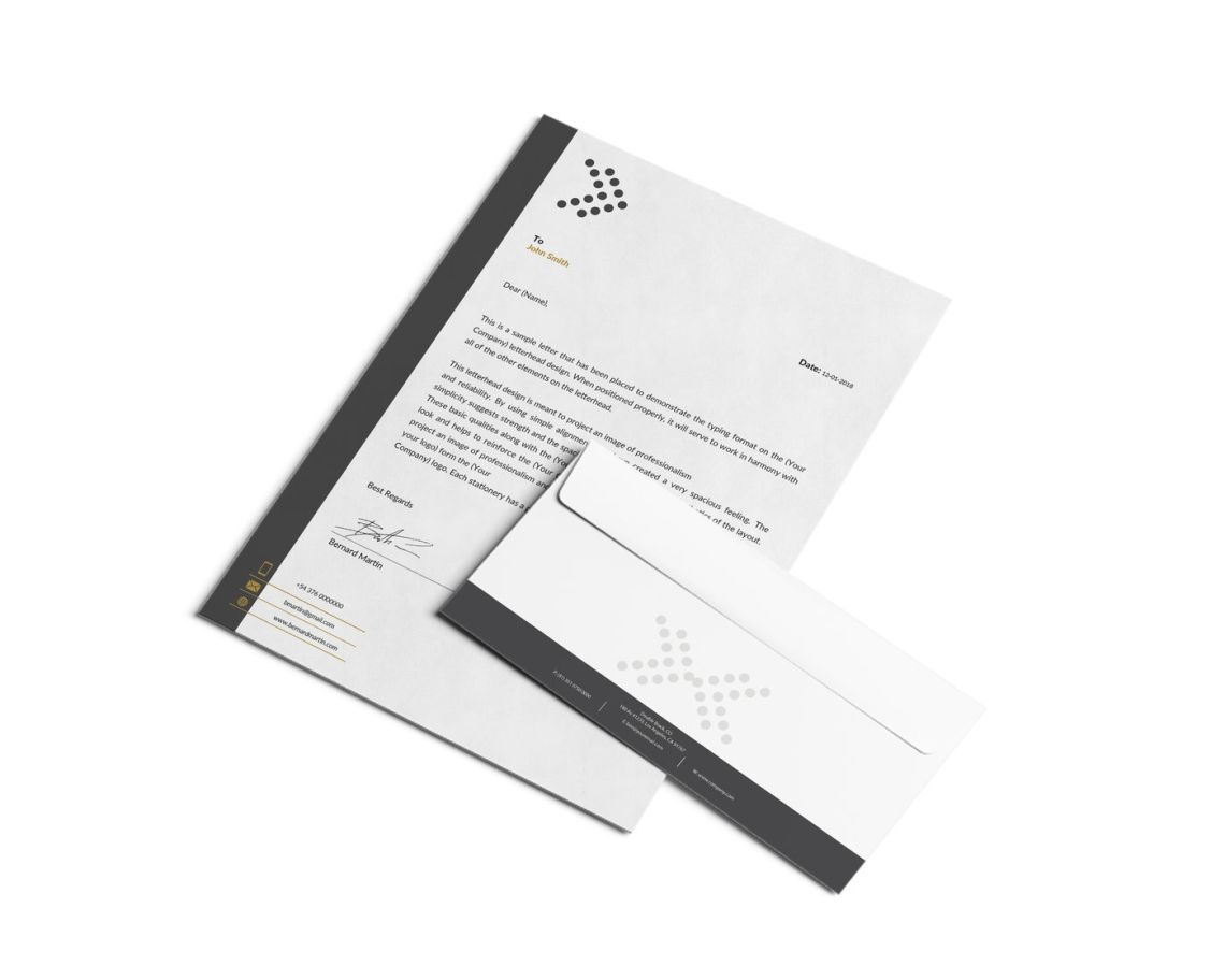 Download Envelope Letter Mockup Free Yellowimages