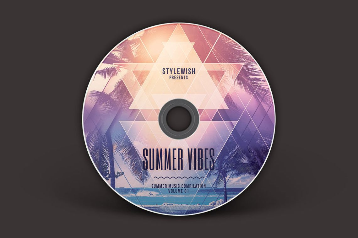 Download Cd Cover Mockup Free Psd Yellowimages