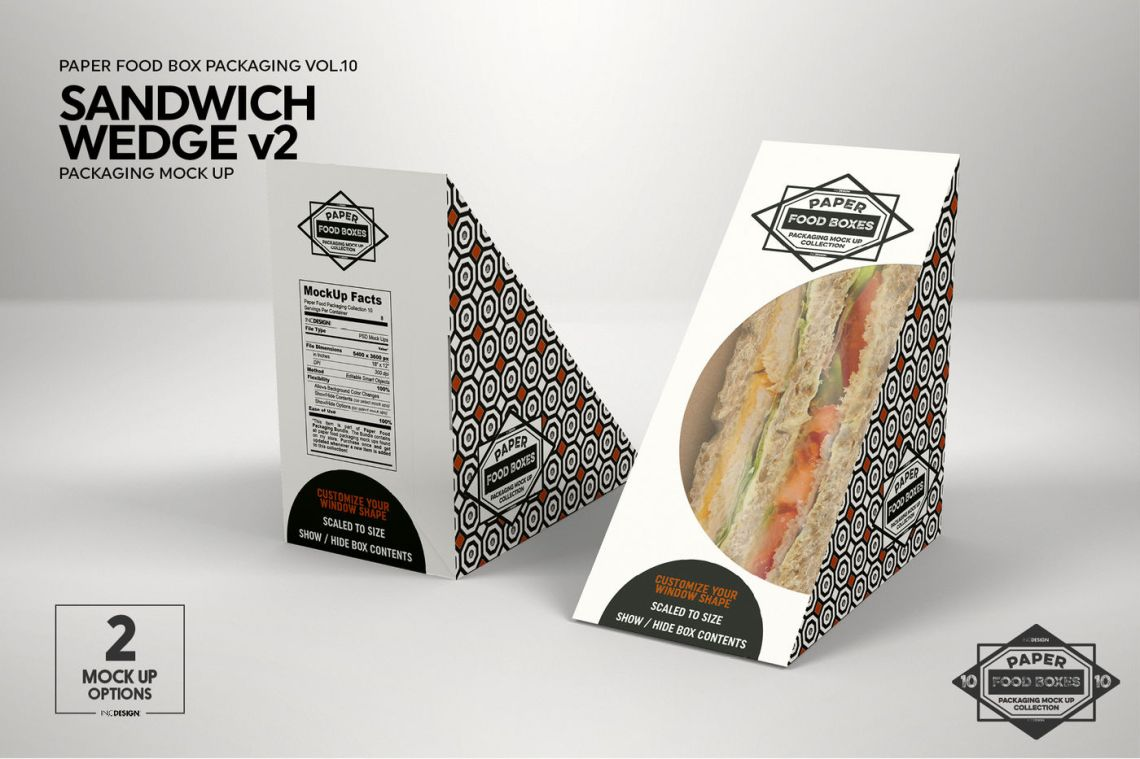 Download Bread Package Mockup Half Side View Yellowimages