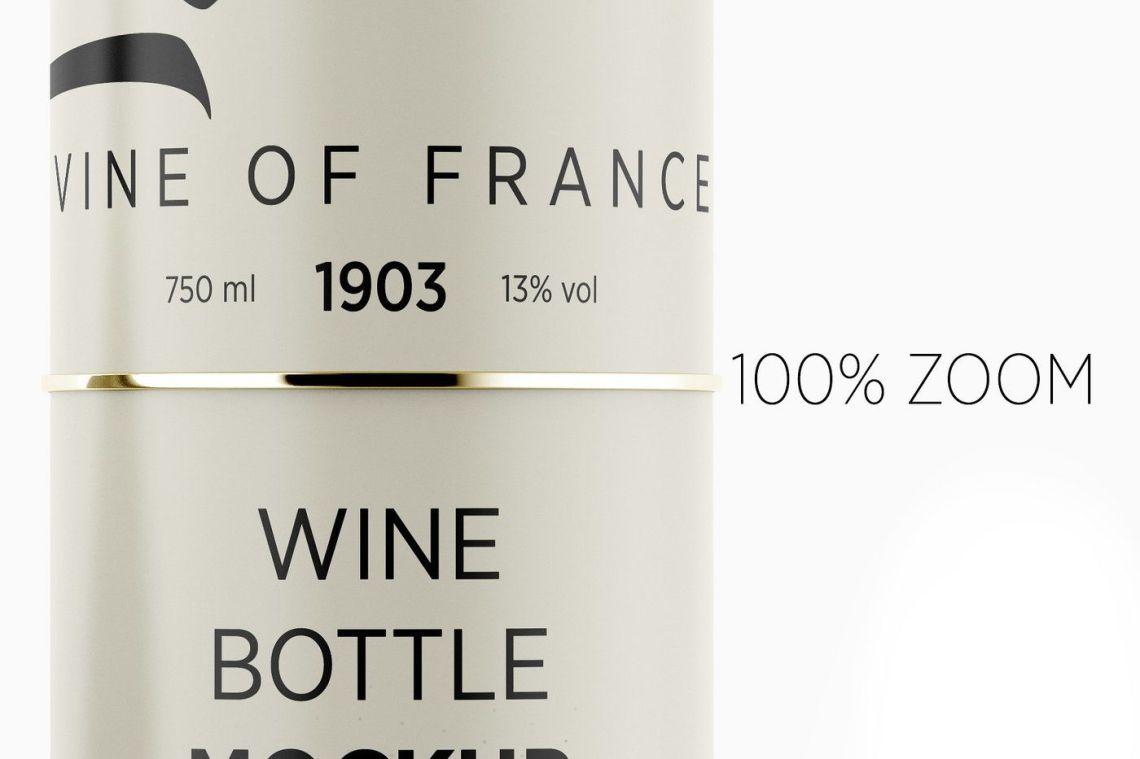 Download Black Matte Lambrusco Wine Bottle Mockup Yellowimages